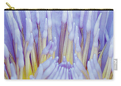 Water Lily Nature Fingers Carry-all Pouch by Carol F Austin