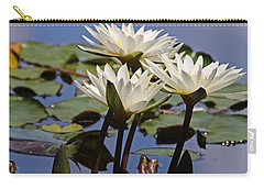 Water Lily Reflections Carry-all Pouch