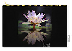 Carry-all Pouch featuring the photograph Water Lily by Savannah Gibbs