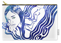 Water Nymph Ix Carry-all Pouch
