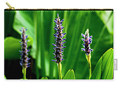 Carry-all Pouch featuring the photograph Water Plants 2017 1 by Buddy Scott