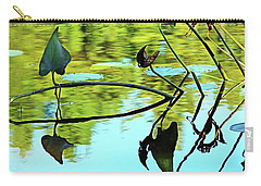 Water Plants Carry-all Pouch by Debbie Oppermann