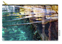 Carry-all Pouch featuring the photograph Water Reflections by Francesca Mackenney