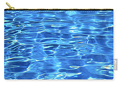 Carry-all Pouch featuring the photograph Water Shadows by Ramona Matei
