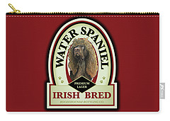 Water Spaniel Irish Bred Premium Lager Carry-all Pouch