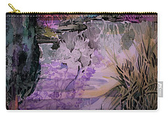 Carry-all Pouch featuring the painting Water Sprite by Mindy Newman