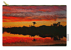 Winter Sunrise I Carry-all Pouch
