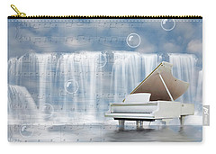 Water Synphony For Piano Carry-all Pouch by Angel Jesus De la Fuente