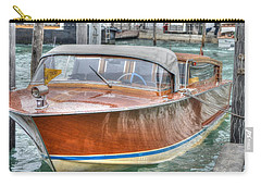Water Taxi Italy Carry-all Pouch