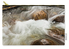 Carry-all Pouch featuring the photograph Water Under The Bridge by Alex Lapidus