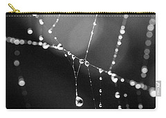 Carry-all Pouch featuring the photograph Water Web by Darcy Michaelchuk