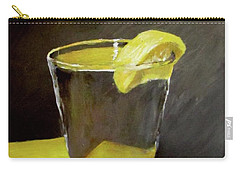 Water With A Lemon...please Carry-all Pouch