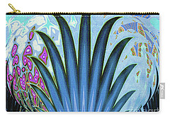 Water World Botanical Carry-all Pouch by Ann Johndro-Collins