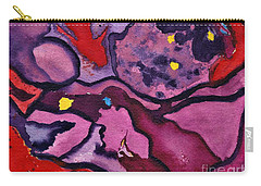 Watercolor Abstraction Carry-all Pouch