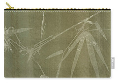 Watercolor Bamboo 01 Carry-all Pouch