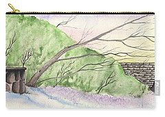 Watercolor Barn Carry-all Pouch