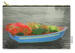 Carry-all Pouch featuring the photograph Watercolor Boat Parade by Aimee L Maher Photography and Art Visit ALMGallerydotcom
