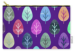 Watercolor Forest Pattern II Carry-all Pouch