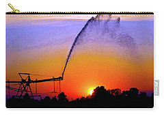 Watercolor Irrigation Sunset 3243 W_2 Carry-all Pouch