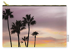 Carry-all Pouch featuring the photograph Watercolor Sky by Ana V Ramirez