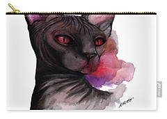 Watercolor Sphinx Carry-all Pouch