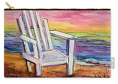 Watercolor White Chair Carry-all Pouch