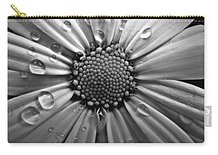 Waterdrops On A Daisy Carry-all Pouch
