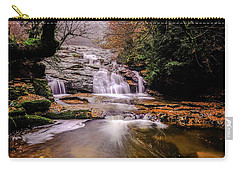 Carry-all Pouch featuring the photograph Waterfall-10 by Okan YILMAZ