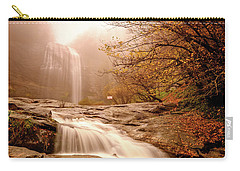 Carry-all Pouch featuring the photograph Waterfall-11 by Okan YILMAZ