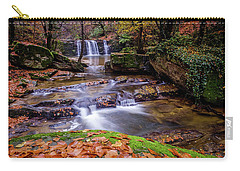Carry-all Pouch featuring the photograph Waterfall-2 by Okan YILMAZ