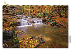 Carry-all Pouch featuring the photograph Waterfall-6 by Okan YILMAZ