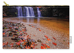 Carry-all Pouch featuring the photograph Waterfall-8 by Okan YILMAZ