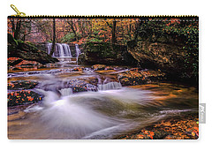 Carry-all Pouch featuring the photograph Waterfall-9 by Okan YILMAZ