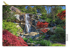 Carry-all Pouch featuring the photograph Waterfall At Maymont by Rick Berk