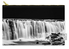 Waterfall At Night Carry-all Pouch