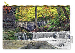 Waterfall At Olmsted Falls - 1 Carry-all Pouch