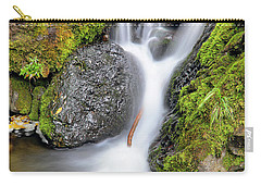Waterfall Atop Wolf Creek Pass - Colorado - Nature Carry-all Pouch by Jason Politte