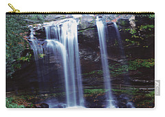 Carry-all Pouch featuring the photograph Waterfall  by Debra Crank