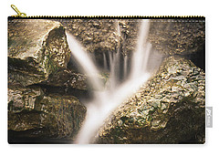 Waterfall Detail  Carry-all Pouch by Scott Meyer