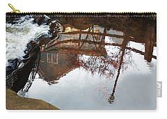 Waterfall From Calm Waters Carry-all Pouch