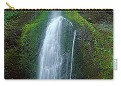 Waterfall In Olympic National Rainforest Carry-all Pouch