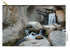 Waterfall In The Buttermilks Carry-all Pouch