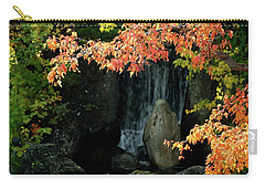 Waterfall In The Garden Carry-all Pouch