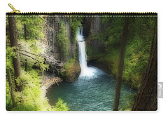 Waterfall In The Grotto Carry-all Pouch
