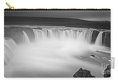 Waterfall Of The Gods Iceland Carry-all Pouch by Gunnar Orn Arnason