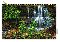 Carry-all Pouch featuring the photograph Waterfall On Back Fork by Thomas R Fletcher