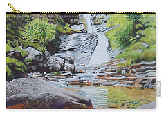 Waterfall On Skye 2 Carry-all Pouch
