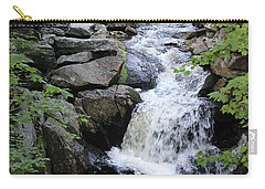Waterfall Pillsbury State Park Carry-all Pouch