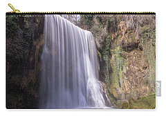 Waterfall With The Silk Effect Carry-all Pouch