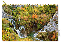 Waterfalls In Plitvice Lakes National Park Carry-all Pouch